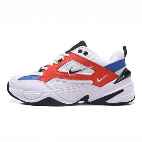 Hommes Nike M2K Tekno blanc-rouge