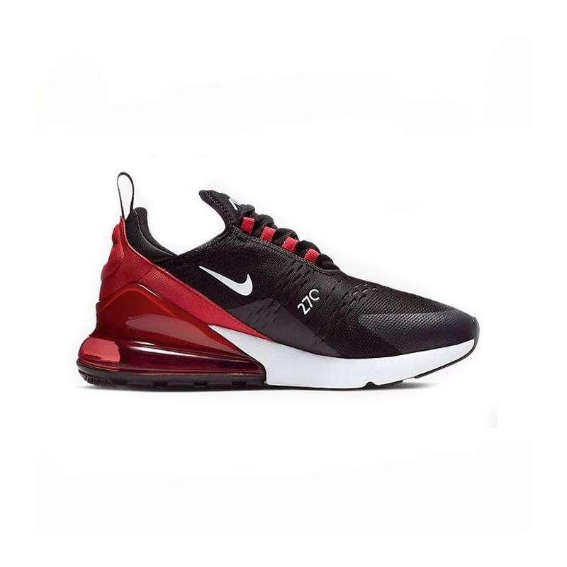Uomo Nike Air Max 270 Nero rosso