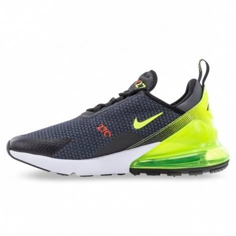 Women Nike Air Max 270 Gray-Yellow