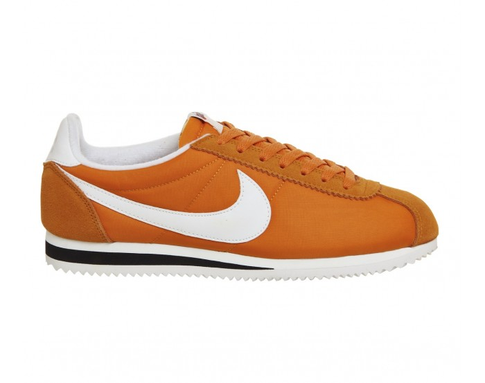 Women Nike Cortez Basic Leather Orange
