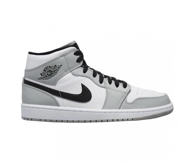 женщины Nike Air Jordan 1 Mid  Дымчатый серый