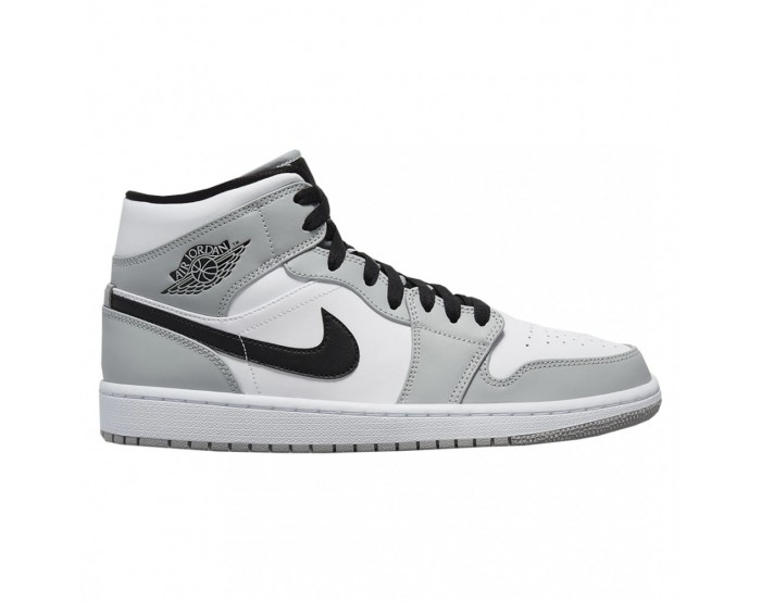 Donna Nike Air Jordan 1 Mid Grigio fumo