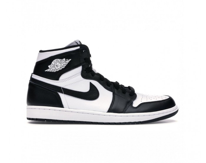 женщины Nike Air Jordan 1 Mid Черно-белый