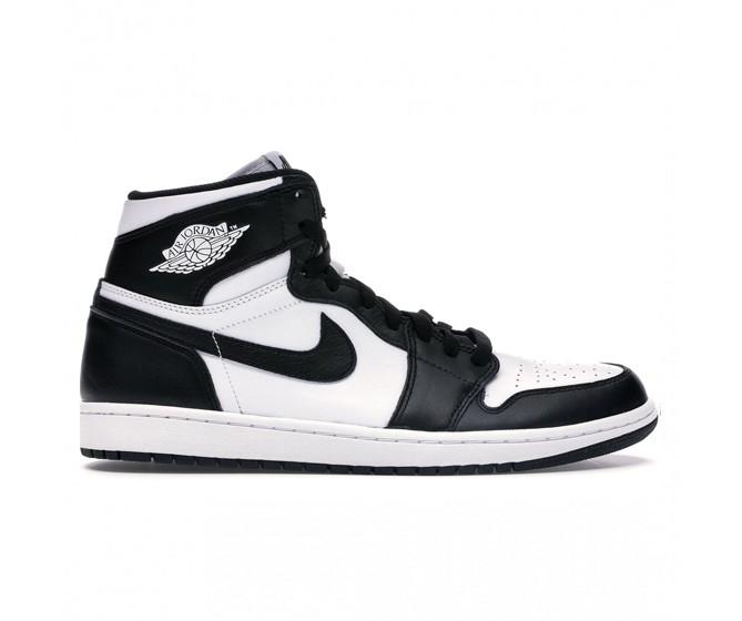 Мужчины Nike Air Jordan 1 Mid  Черно-белый