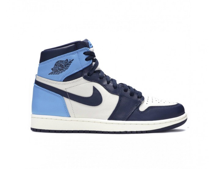 Men Nike Air Jordan 1 Mid Blue