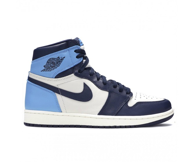 женщины Nike Air Jordan 1 Mid  Синий