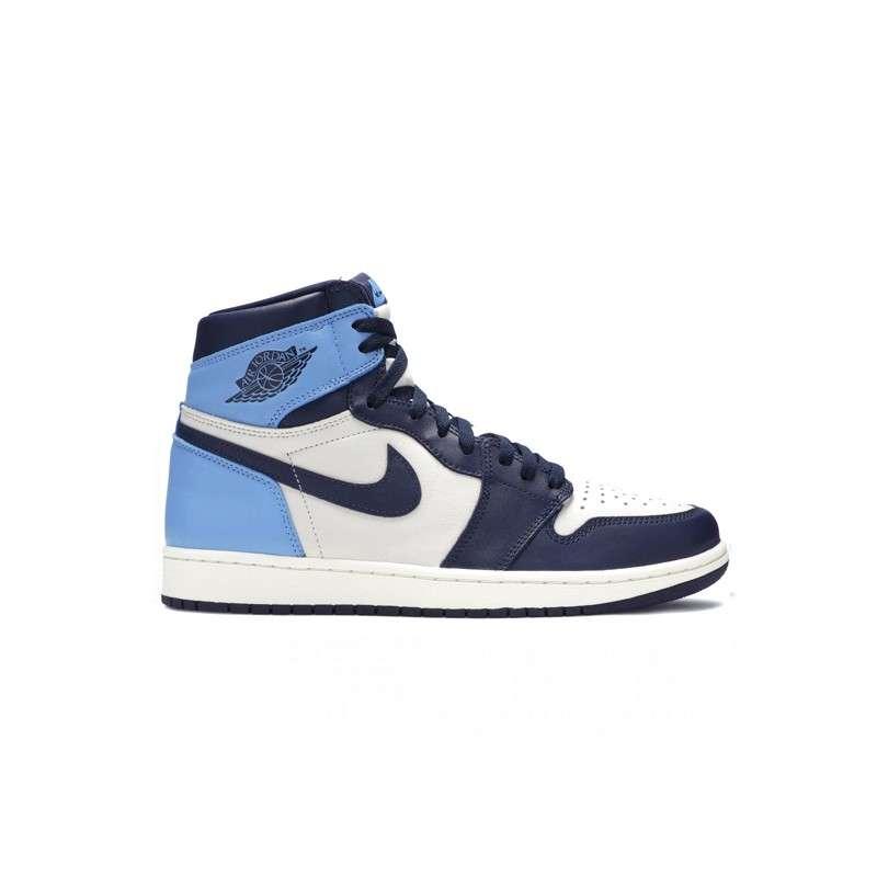 Women Nike Air Jordan 1 Mid Blue