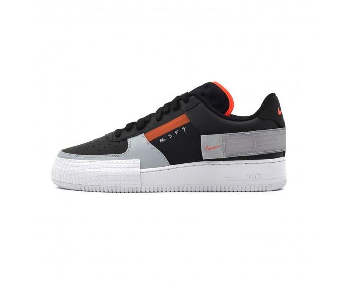 Women Nike Air Force1 N 354 black