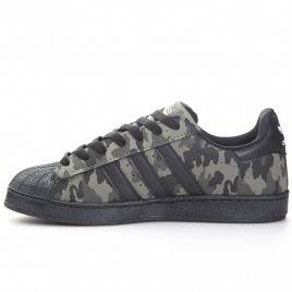 Adidas Originals  Superstar  Baskets Camouflage noir
