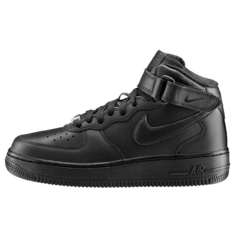 Women Nike Air Force1 high black
