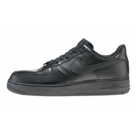 Nike Air Force1 высокая черный