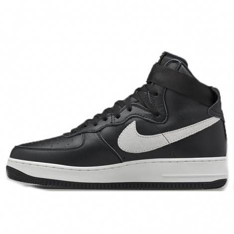 Nike Air Force1 haute Noir blanc