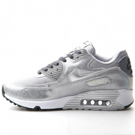 Donna Nike Air Max 90 argento