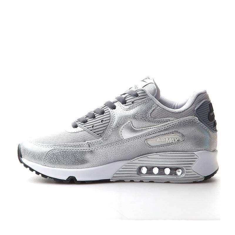 Femmes Nike Air Max 90 argent