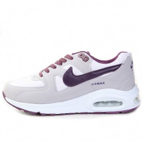 Nike Air Max Grigio / Bordeaux