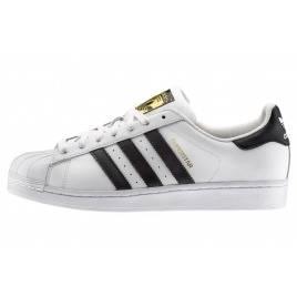 женщина Бело-черные кроссовки adidas Originals Superstar