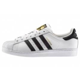 Donna Adidas Originals Superstar Sneakers bianche e nere