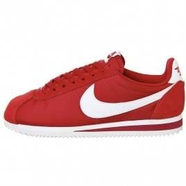 Women Nike Cortez Basic Leather Red