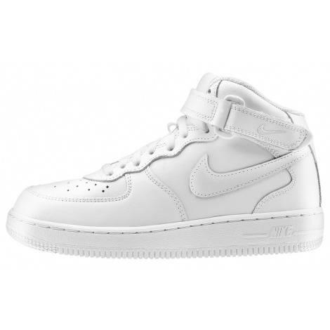 Nike Air Force1 высокая белый