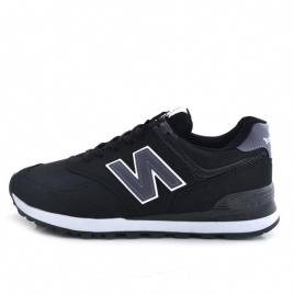 New Balance 574 Black / Gray