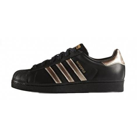 adidas Originals Superstar black & gold