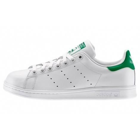adidas Originals Stan Smith white green