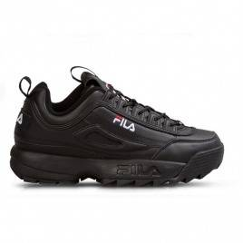Women Fila Disruptor II Black Black